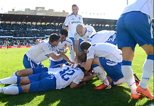 Zaragoza sorprende y asalta Vallecas con uno de Zuculini