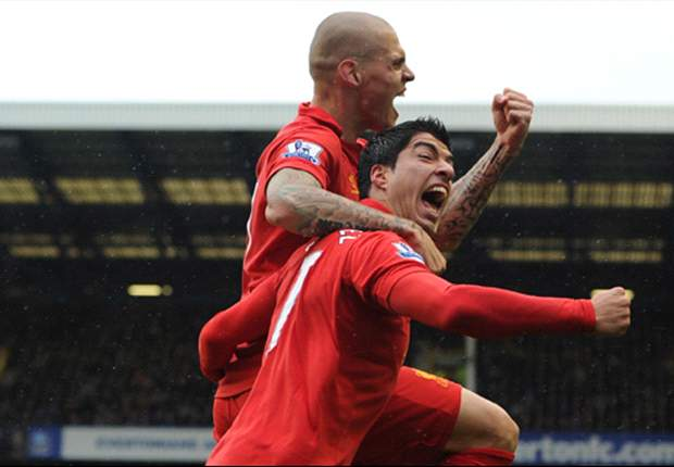Skrtel hails Liverpool team-mate Suarez as 'unplayable'