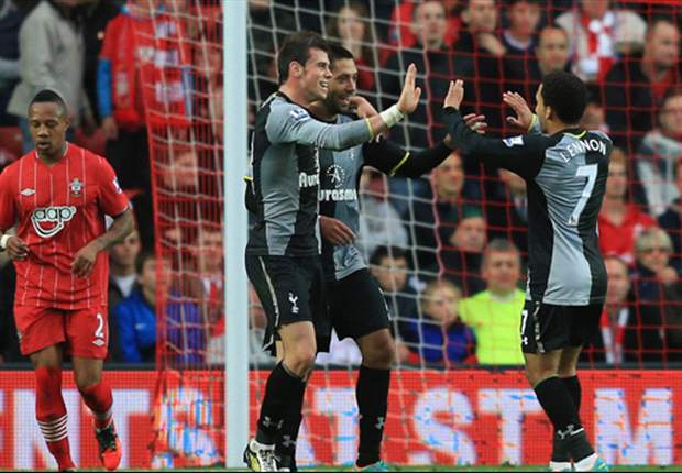 Southampton 1-2 Tottenham: Bale & Dempsey send Spurs fourth