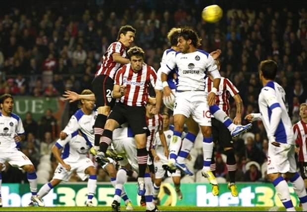 Borja schiet Getafe vroeg langs Bilbao