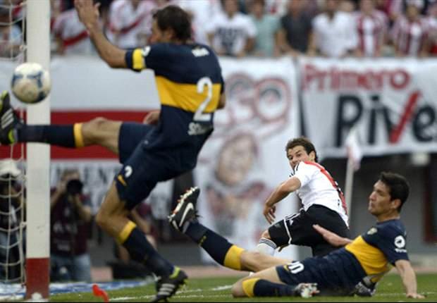 River Plate 2 x 2 Boca Juniors: Xeneizes buscam no final e frustram festa do rival