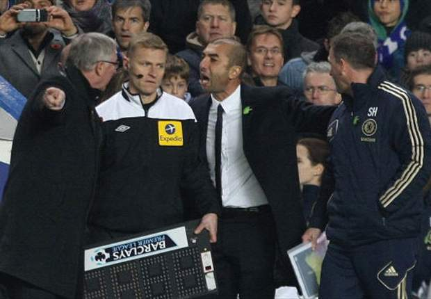 Manchester United are favoured by referees, insists Di Matteo