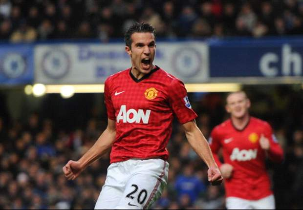 Van Persie's Manchester United shirt is best-selling in North America