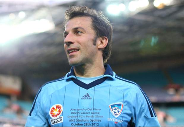 Del Piero reveals hamstring concerns, but confident he is over the worst