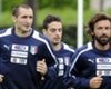 Chiellini dismisses Pirlo rumours