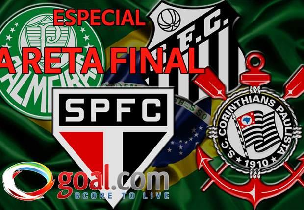 ESPECIAL: Na reta final! O desempenhos dos clubes paulistas do Brasileirão na hora de decidir