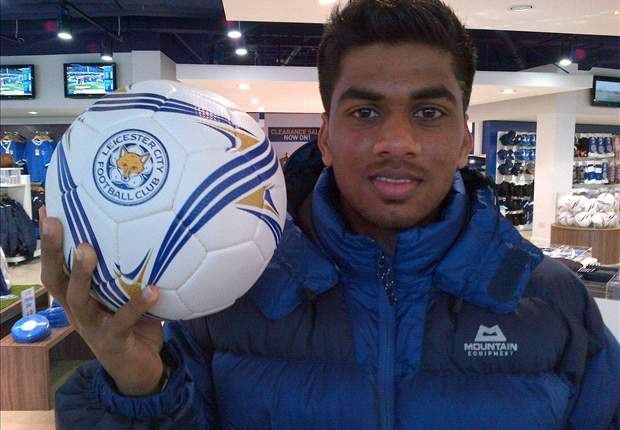 Brandon Fernandes feels at home in Leicester