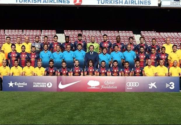 Barcelona se hace la foto oficial de la temporada 2012-13
