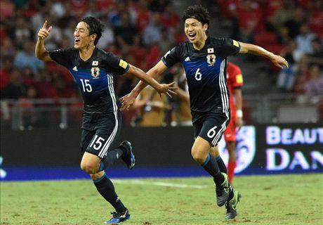 Report: Singapore 0-3 Japan