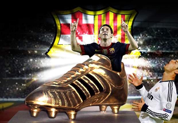 Lionel Messi se lleva la Bota de Oro y deja a Cristiano Ronaldo hundido