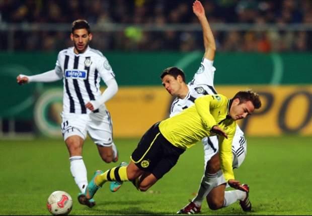 Letzte Saison scheiterte Aalen im Pokal am BVB