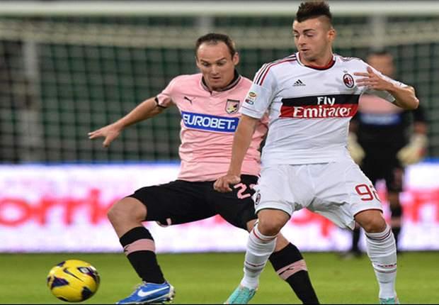 AC Milan Selamatkan Poin Di Palermo