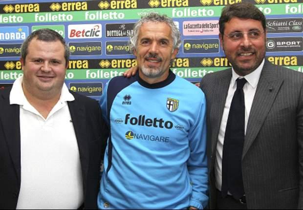 """Quel Donadoni in orbita Milan è arrivato alle orecchie anche di Ghirardi: """"Penso che per almeno un altro anno ancora resterà con noi. Poi il mercato è strano..."""". Intanto lustra il gioiello Sansone"""