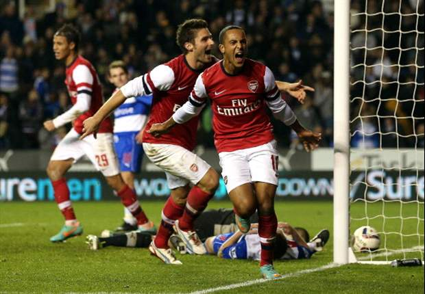 From four-goal hell to seventh heaven: Arsenal and Walcott forget problems amid Madejski madness
