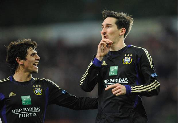 Kljestan turns in game-winning assist in Anderlecht's Champions League triumph