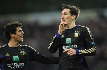Kljestan turns in game-winning assist in Anderlecht's Champions League triumph
