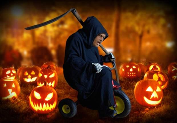 José Mourinho, la muerte en triciclo el día de Halloween
