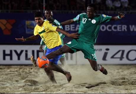 Nigeria get easy beach soccer draw