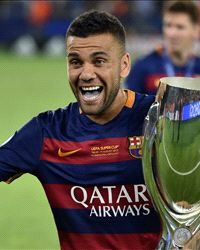 Barcelona were happy with getting Arsenal in Champions League draw, says Alves