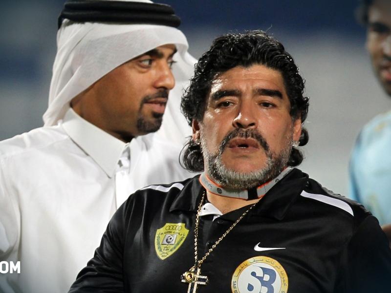 Argentine, Maradona s'inquiète pour l'après-Messi