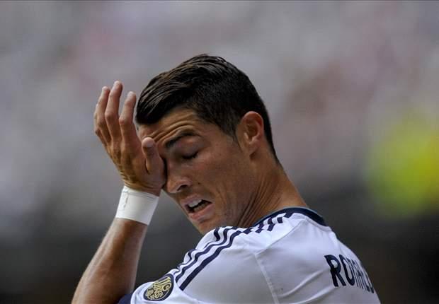 Cristiano Ronaldo atraviesa su peor racha goleadora con el Real Madrid en diez meses