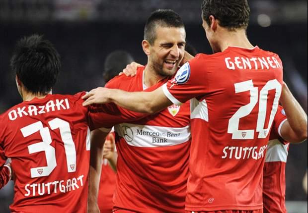 Der VfB Stuttgart gewinnt in Kopenhagen dank Treffer von Ibisevic und Harnik