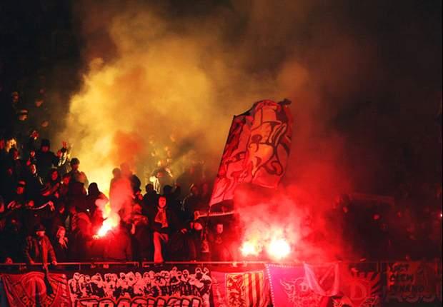 Dynamo Dresden verurteilt Ausschreitungen