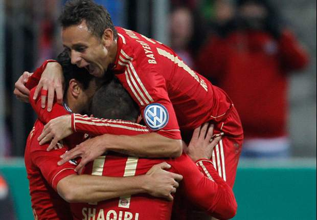 Bayern Munich 4-0 Kaiserslautern: Pizarro & Robben at the double as hosts cruise through