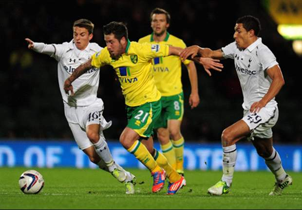 Norwich City 2-1 Tottenham: Late Spurs collapse & missed Dempsey penalty haunts sloppy visitors
