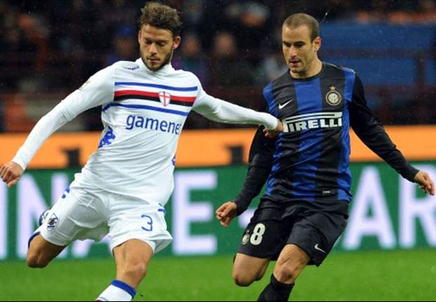Inter 3-2 Sampdoria: Milito, Palacio & Guarin send Nerazzurri second
