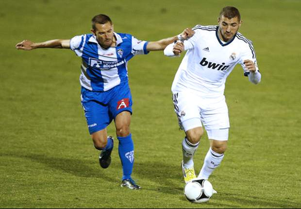 Alcoyano 1-4 Real Madrid: Benzema nets double as Mourinho's men collect commanding first-leg lead