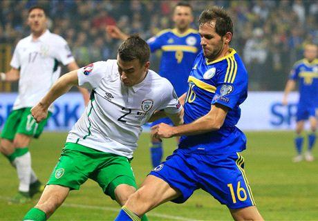Repesca Euro: Bosnia 1-1 Rep. Irlanda