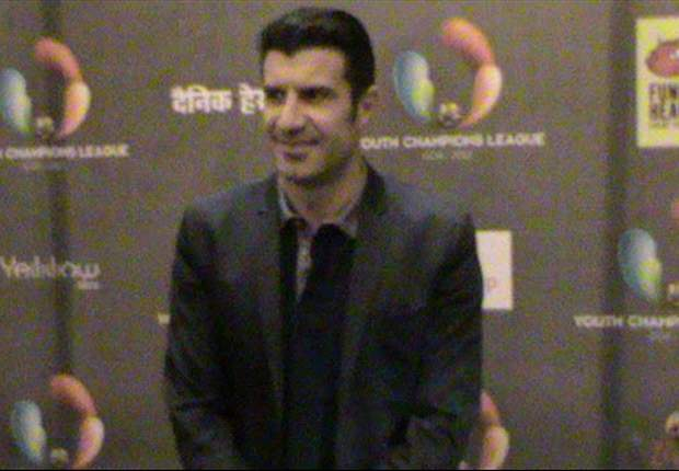 India's footballers have great quality - Luis Figo