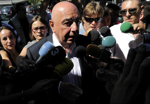 Milan chief Galliani doubtful of summer Honda move