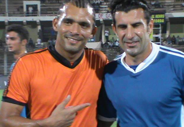 Luis Figo: Having a player play in Europe will serve as an inspiration for the Indian youngsters