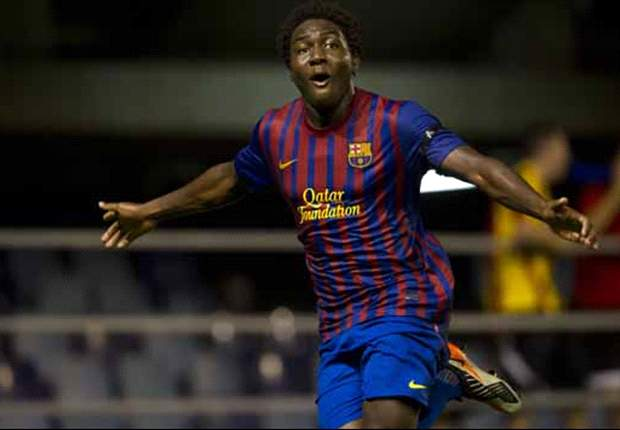 'The next Eto'o' - Manchester City eye move for Barcelona wonderkid Jean Marie Dongou