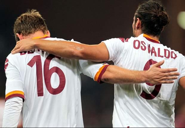 A Trigoria si parla sempre di De Rossi e Osvaldo: striscione dei tifosi in favore di DDR, controlli ok per il bomber