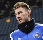 Arsenal flop Bendtner scores at last!