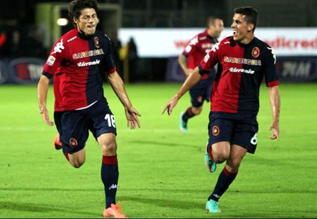 Verso Cagliari-Catania: Sardi con Cossu a supporto di Pinilla e Sau, Maran concede una chance a Doukara