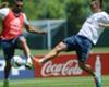 La Selección se entrenó con Higuaín y Lamela con dudas