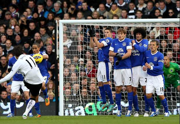 Fulham 2–2 Everton: Sidwell steals late point to cancel out Fellaini double