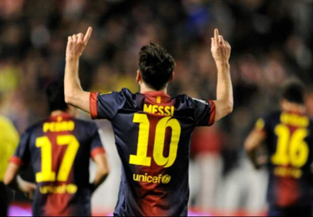 Messi tops Muller's record of 85 goals in a calendar year