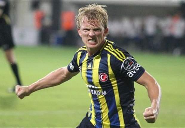 Dirk Kuyt ingin menyampaikan salam perpisahan ke Feyenoord Rotterdam di stadion barunya.