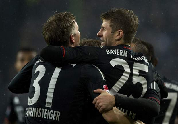 Bundesliga Team of the Week: Ribery, Schweinsteiger & Kroos star for rampant Bayern
