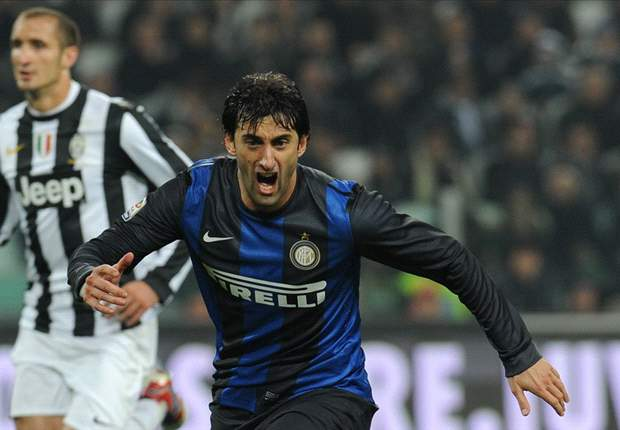 The Prince of 2012: Only Messi and Ronaldo have scored more league goals than Milito this calendar year