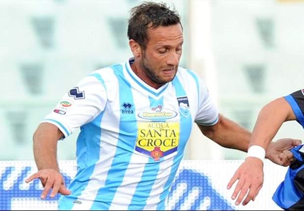 """Abbruscato ha la ricetta-salvezza per il Pescara: """"Dobbiamo creare più palle goal"""""""