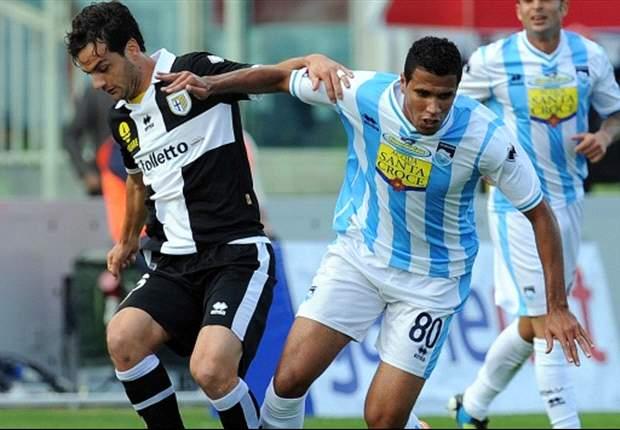 Parma é derrotado pelo Pescara e perde chance de entrar no G-5