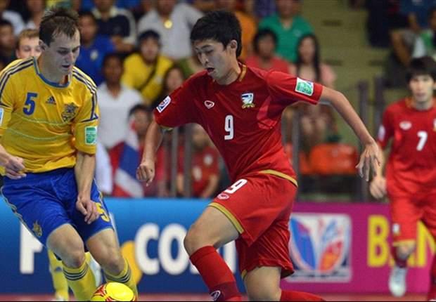 Piala Dunia Futsal: Brasil Cukur Libya, Thailand Tertahan