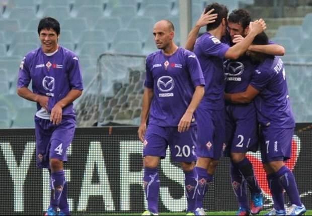 Fiorentina de los chilenos escala en Italia