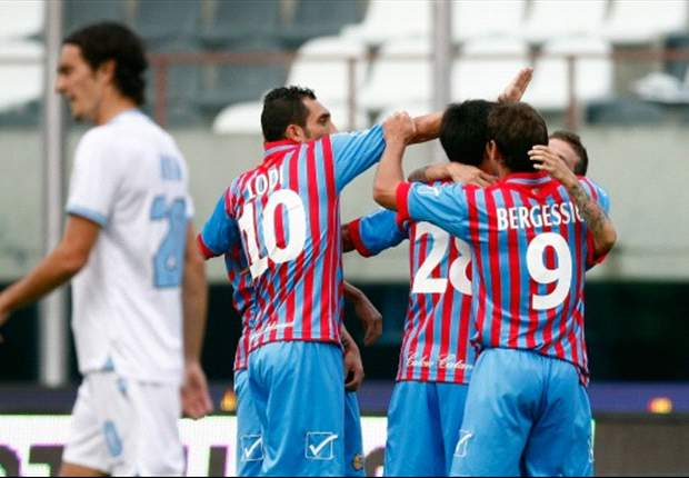 Serie A Round 11 Results: Catania crush lacklustre Lazio, Roma return to form in style against Palermo
